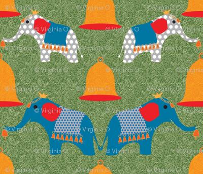 lucky bells, lucky elephants, lucky you!