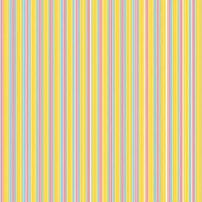 Narrow Vintage Icecream Stripe