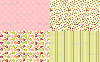 Sweet Apples and Cream - Coordinates
