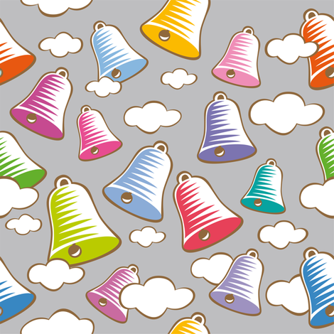 sweet_bells fabric by cassiopee on Spoonflower - custom fabric