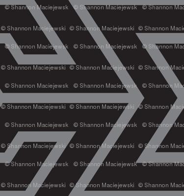 Sigma Geometric - Black/Gray