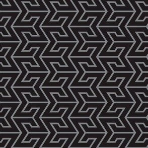 Sigma Geometric - Black/Gray