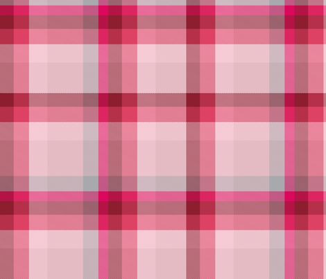 Tartan Plaid 40, L fabric by animotaxis on Spoonflower - custom fabric