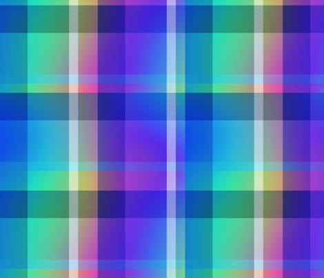 Tartan Plaid 43, L fabric by animotaxis on Spoonflower - custom fabric