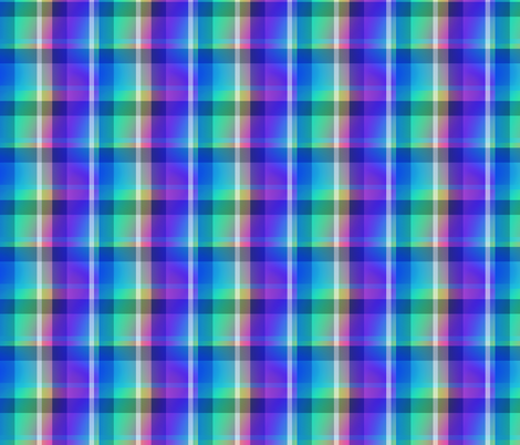Tartan Plaid 43, S fabric by animotaxis on Spoonflower - custom fabric