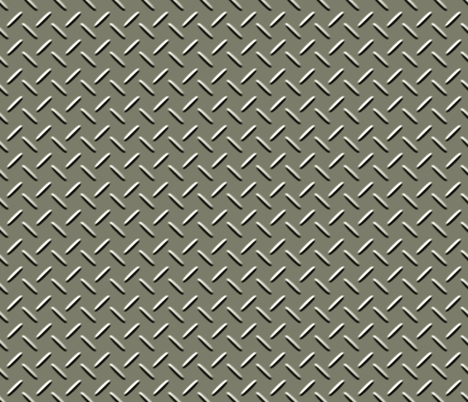 Diamond Plate fabric by evenspor on Spoonflower - custom fabric