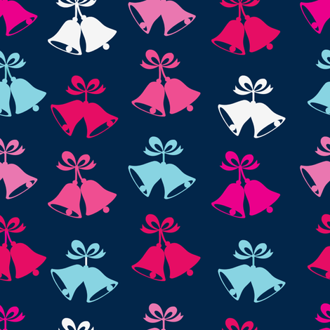 Jingle Bells fabric by danielle_b on Spoonflower - custom fabric