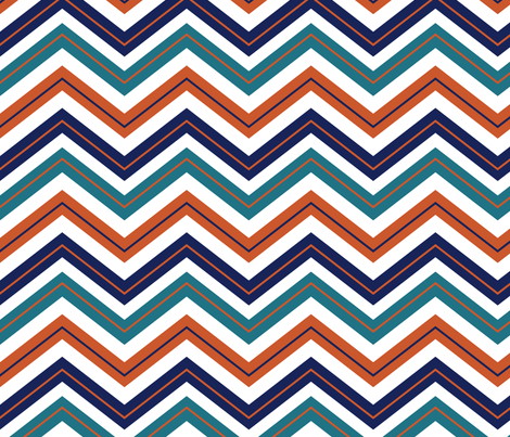 Adobe Chevrons fabric by ravenous on Spoonflower - custom fabric