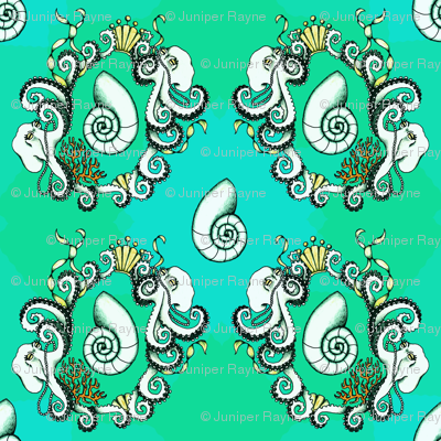 New Rococo Octopi - large