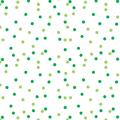 Green spots fabric by elizabethjones on Spoonflower - custom fabric