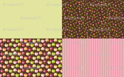 Sweet Apples and Chocolate - Coordinates