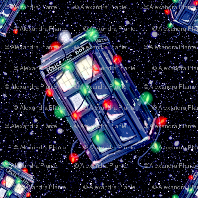 Christmas TARDIS