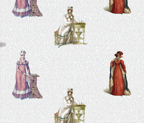 Pride and Prejudice fabric by studiofibonacci on Spoonflower - custom fabric