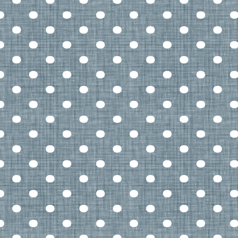 Faded French Spots - Blue fabric by kristopherk on Spoonflower - custom fabric