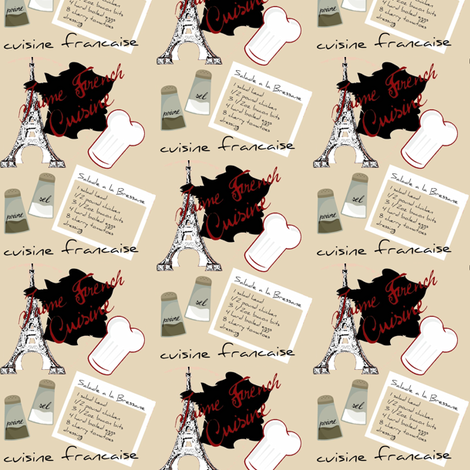 french cook  fabric by paragonstudios on Spoonflower - custom fabric