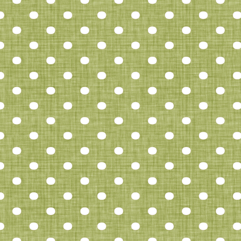 Faded French Spots - Green fabric by kristopherk on Spoonflower - custom fabric