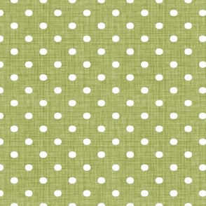 Faded French Spots - Green