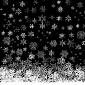 Snowy Night (Black)