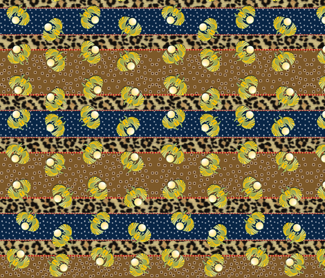 heart_of_egypt fabric by glimmericks on Spoonflower - custom fabric