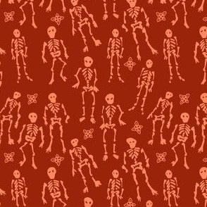 Ditsy Skeletons