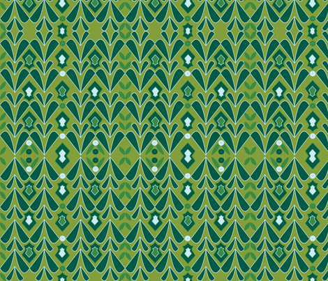 Evergreen fabric by southernbowtie on Spoonflower - custom fabric