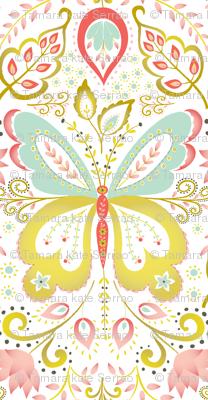 Springtime Mariposa - coral