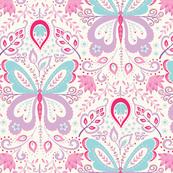 Springtime Mariposa - purple