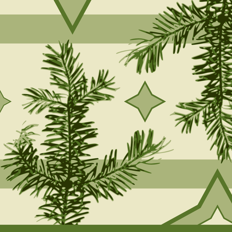 evergreen fabric by houseofquality on Spoonflower - custom fabric