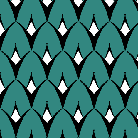 Strange Coordinate fabric by pond_ripple on Spoonflower - custom fabric