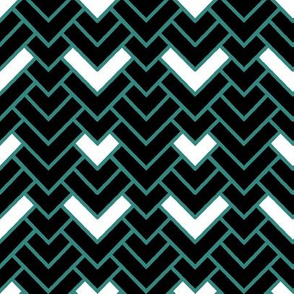 Coordinate Herringbone Chevron