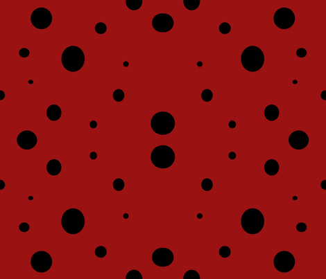 Polka dance fabric by nalo_hopkinson on Spoonflower - custom fabric