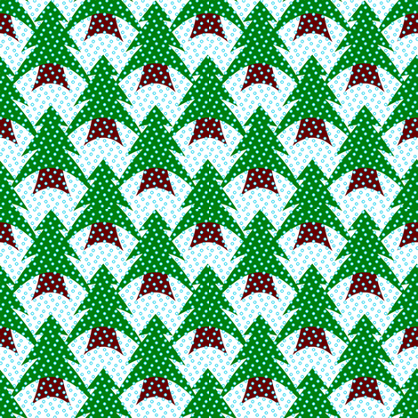 PineyWoods fabric by grannynan on Spoonflower - custom fabric