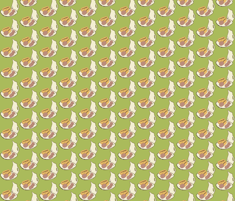 Have A Dreamy Holiday fabric by sparegus on Spoonflower - custom fabric