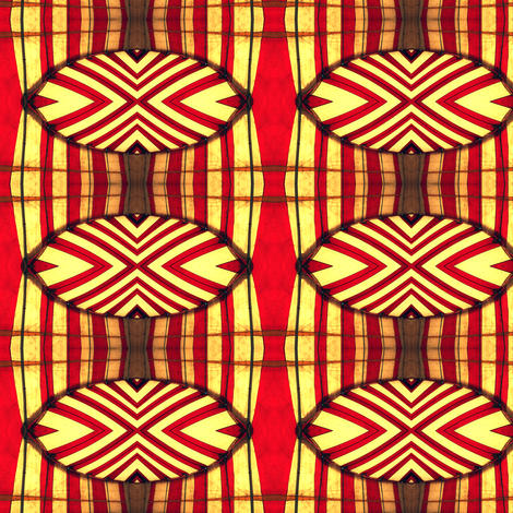 Peppermint Candy Circus Tent fabric by glennis on Spoonflower - custom fabric