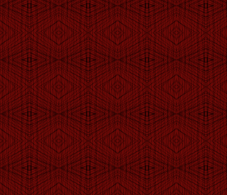 BklynBridge-black&red fabric by relative_of_otis on Spoonflower - custom fabric
