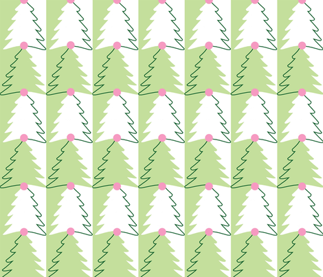 evergreen fabric by melissatiska on Spoonflower - custom fabric