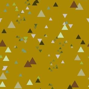 geometric triangles - colorway7