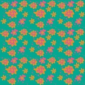 Dizzy little daisy ©2012 Jill Bull