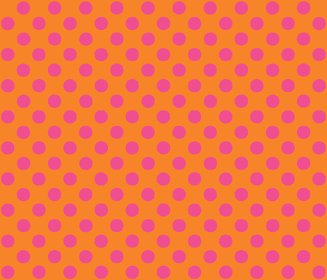 Candy Polka ©2012 Jill Bull fabric by palmrowprints on Spoonflower - custom fabric