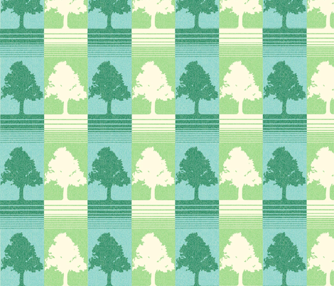 evergreen_copy fabric by onegreyelephant on Spoonflower - custom fabric