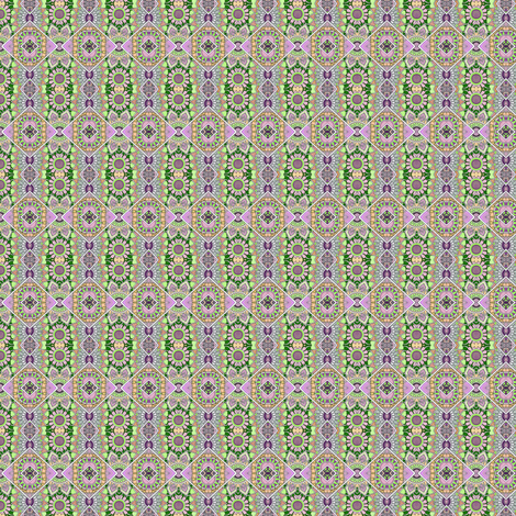 Little Doll Scale Calico From the Prairie fabric by edsel2084 on Spoonflower - custom fabric