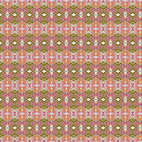 Knee High to a Hamster Oranamental Plaid fabric by edsel2084 on Spoonflower - custom fabric