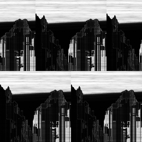 City Noir, S fabric by animotaxis on Spoonflower - custom fabric