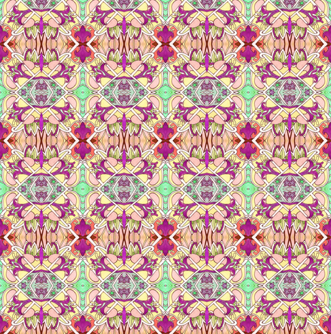 Back to the Sixties Pop Art Excursion fabric by edsel2084 on Spoonflower - custom fabric