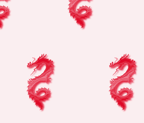 Red Dragon, L fabric by animotaxis on Spoonflower - custom fabric