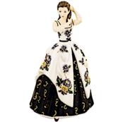 Porcelain statue of princess