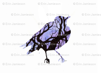 Tree Silhouette (Bird)