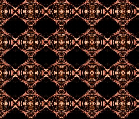 Flame Shibori (posterized) fabric by allida on Spoonflower - custom fabric