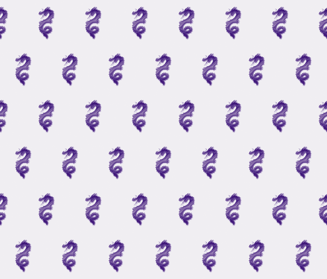 Grape Dragon, S fabric by animotaxis on Spoonflower - custom fabric