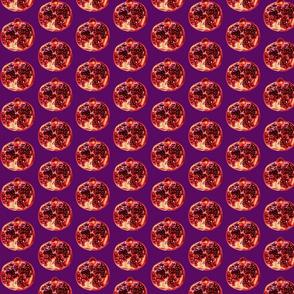 Pomegranates 2 lilac